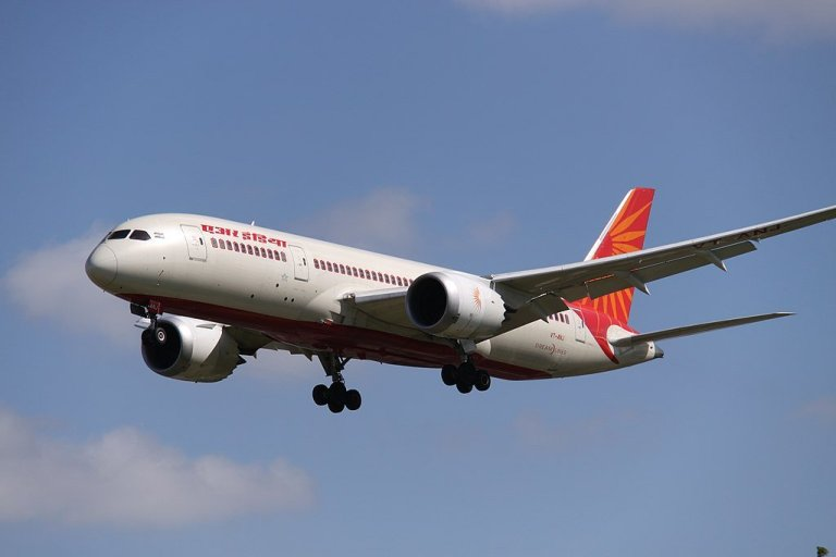 Air India International Flights on February 02