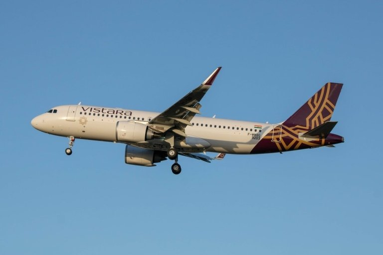 Vistara Direct Flight Kochi Delhi