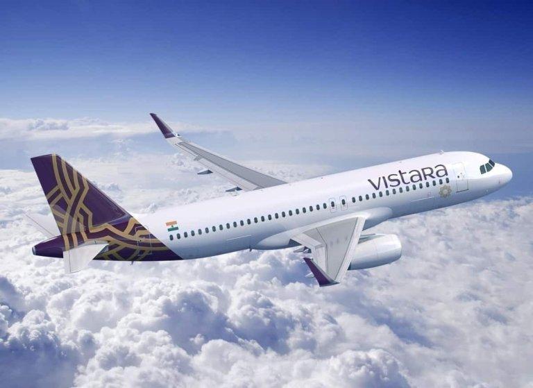 Vistara Inaugural Flight Delhi Frankfurt
