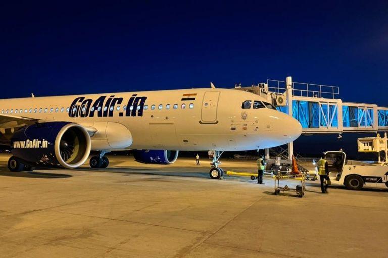 GoAir First Night Flight From Srinagar