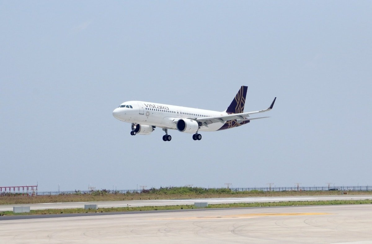 Vistara Inaugural Flight On Mumbai-Male Route