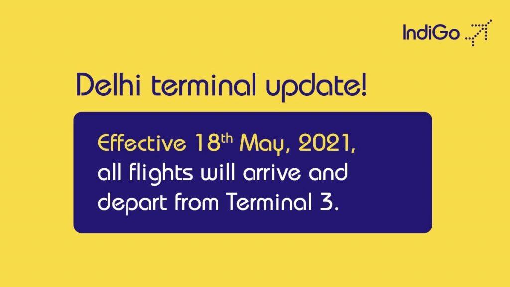 Delhi Airport Terminal Update