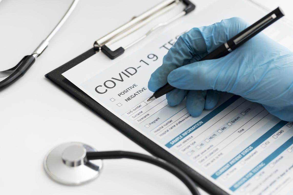 QR Code On RT-PCR Report