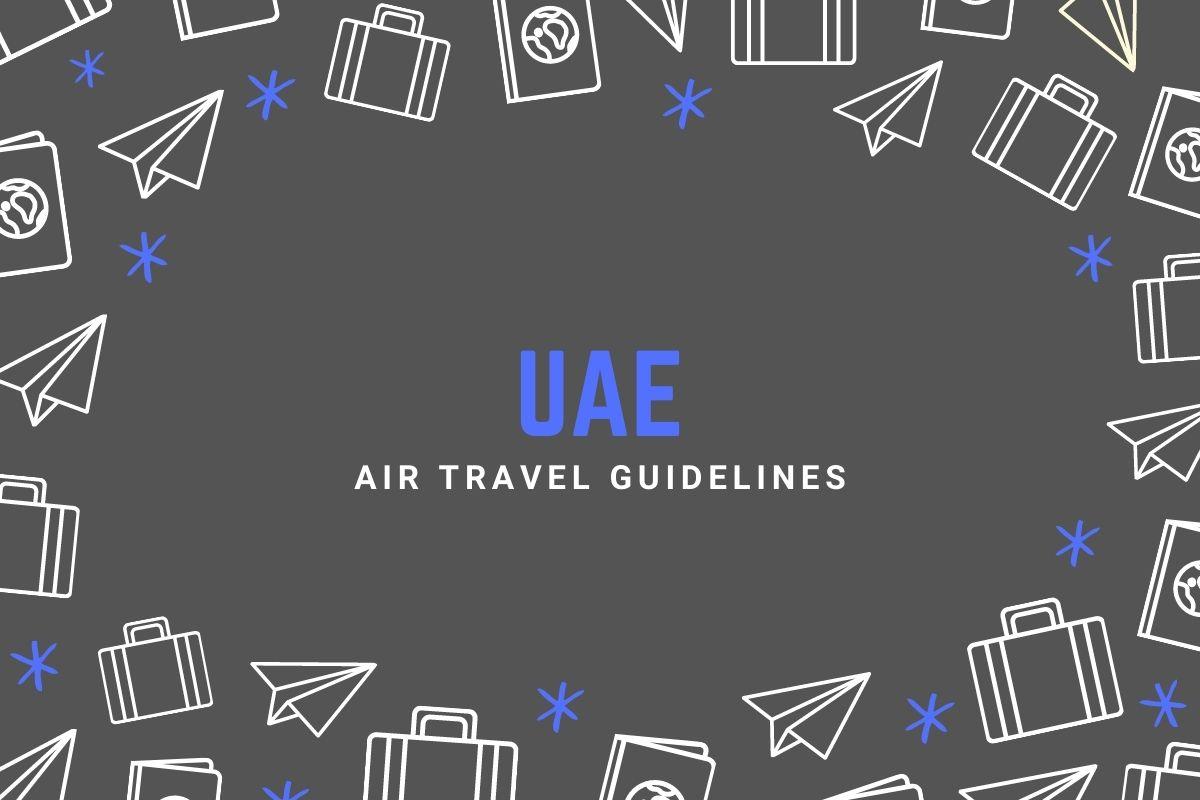UAE Air Travel Guidelines