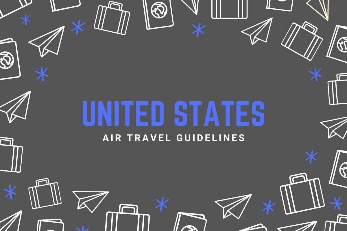 United States Air Travel Guidelines