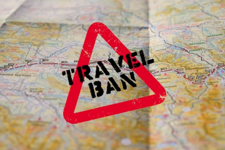 Ban On Travelers From India