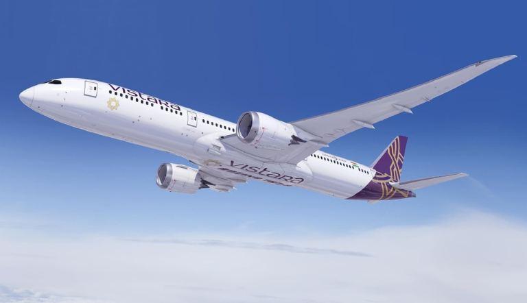 Vistara Delhi-Paris Flights