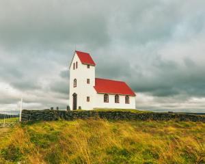 Iceland farmhouse