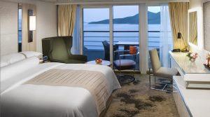 Club Continent Suite - Room #8066 Deck 8 Midship Portside Azamara Journey - Azamara Club Cruises