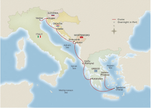 "Itinerary: ""Empires at Sea"" sailing – alternate itineraries are available"