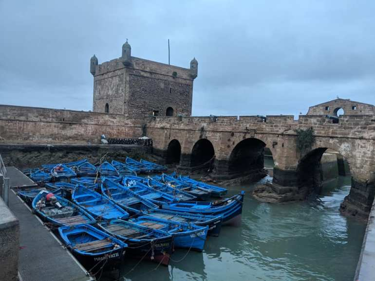 Morocco Essaouira Boats