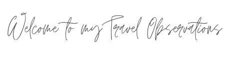 Travel Observations