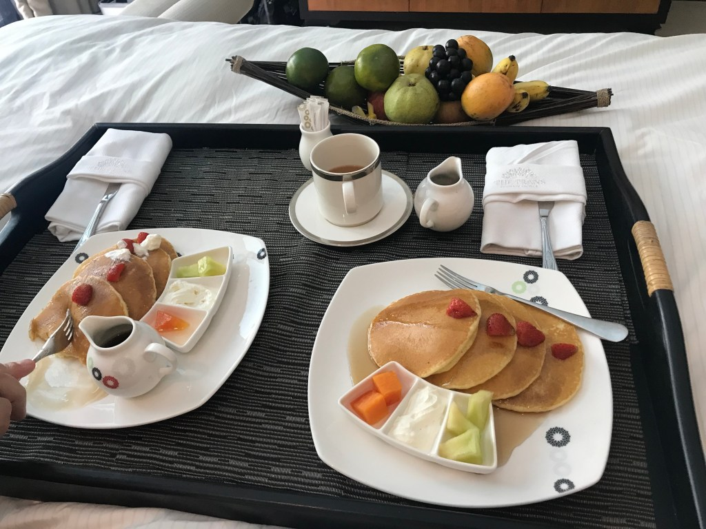 Breakfast in Bed at the Trans Resort Bali