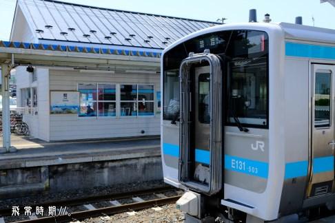 乘坐八戶線即可前往鮫駅。