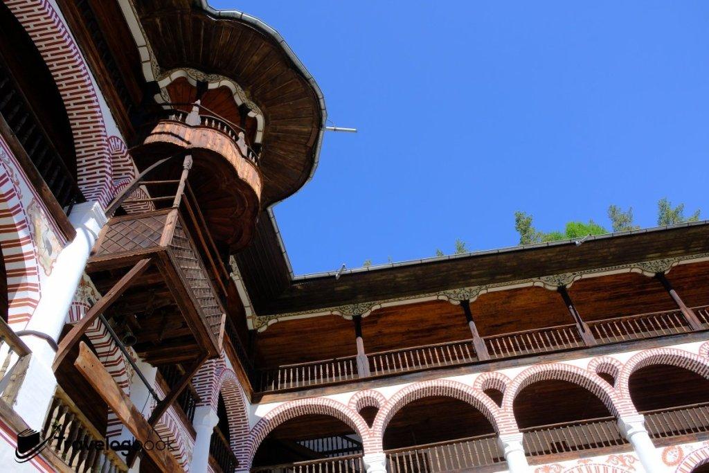 里拉修道院一隅。