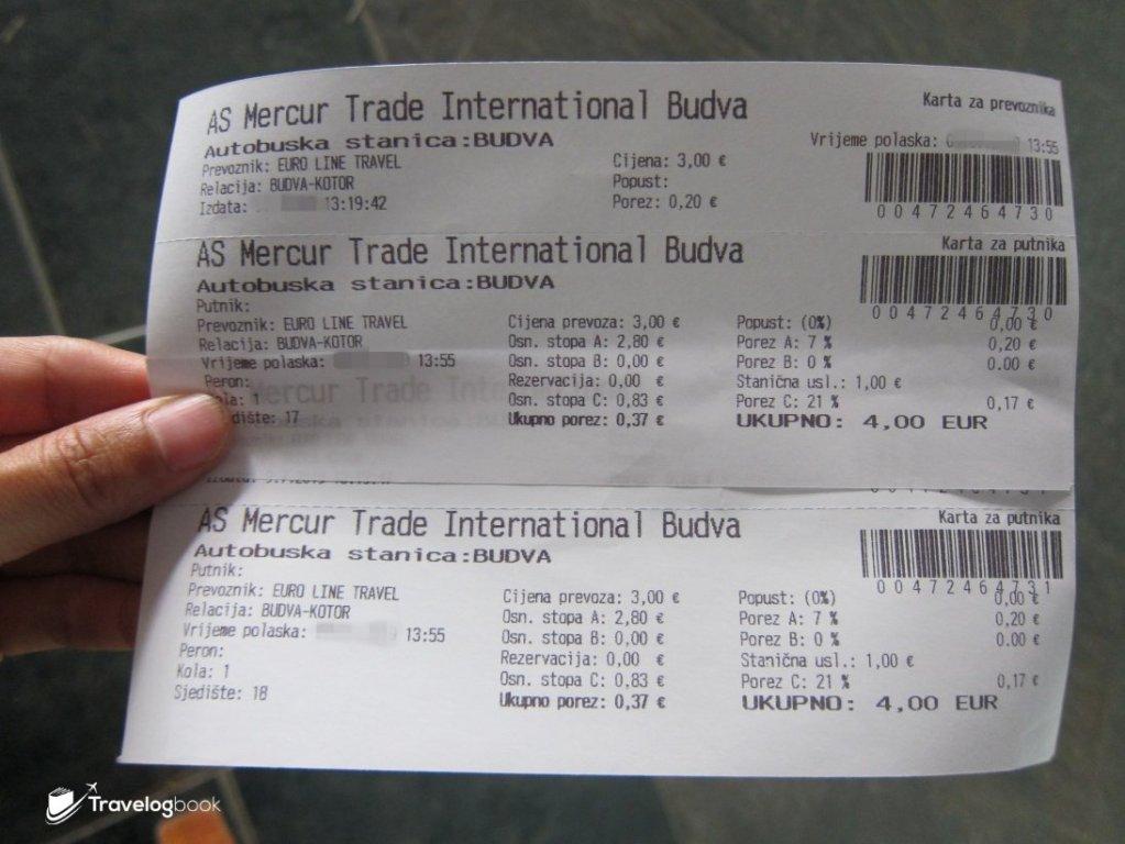 由Budva前往Kotor,巴士單程4歐元/人。