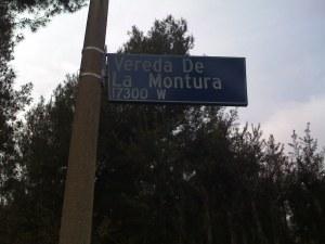 Vereda De La Montura