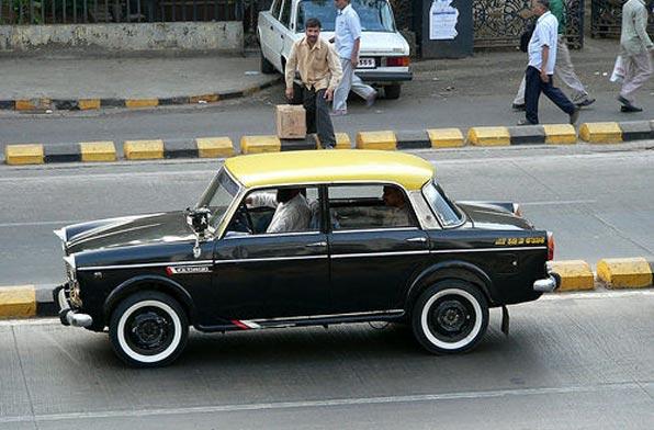 Yellow & Black Taxi