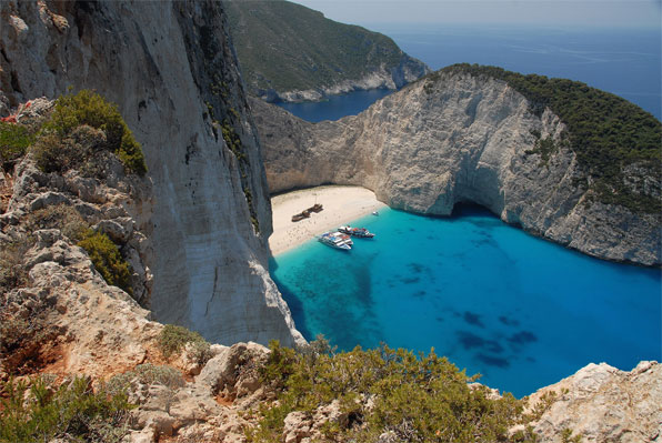 Navagio Beach (Source: Beautiful Places To Visit)