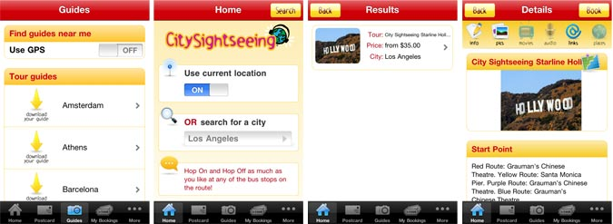 City Sightseeing App for iPhone & Android