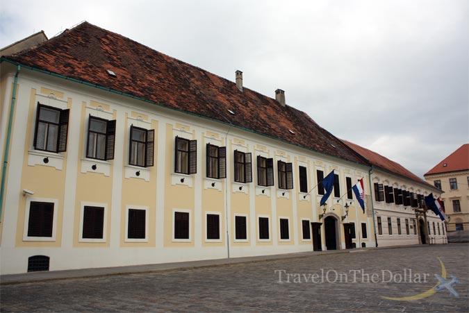 Zagreb Banski Dvori