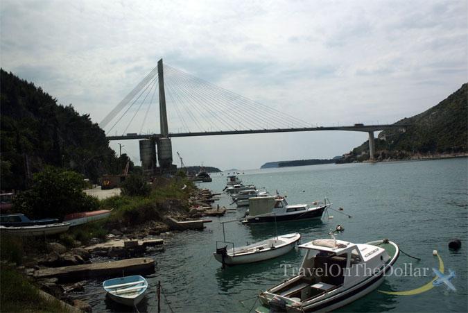 Bridge near Dubrovnik