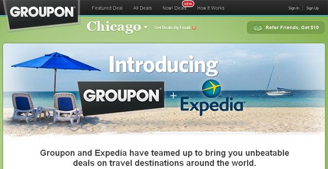 Groupon Getaways & Expedia