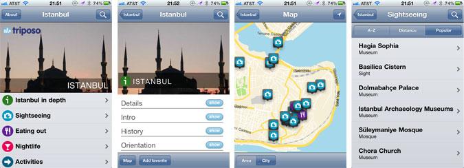 Triposo iOS App