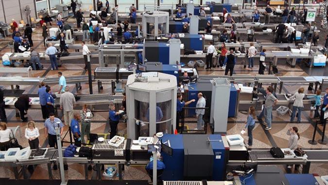 TSA checkpoints