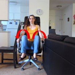 Office Chair Exercises Toys R Us Portable High Get The Aisle Seat Or Exercise To Avoid Blood Clots   Travel On Dollar