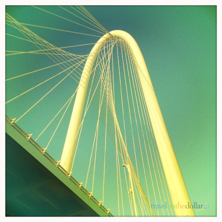 Margaret Hunt Hill Bridge, Dallas Downtown