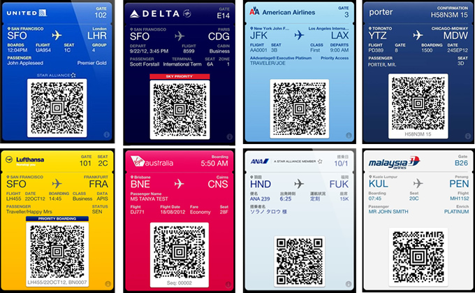 Apple iOS Passbook