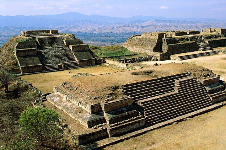 Monte Alban. Mexico