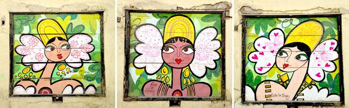 Three Angels, Casco Viejo, Panama City