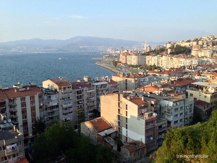 View from Izmir Asansör