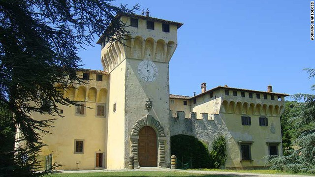 Medici Villas and Gardens in Tuscany (Italy)