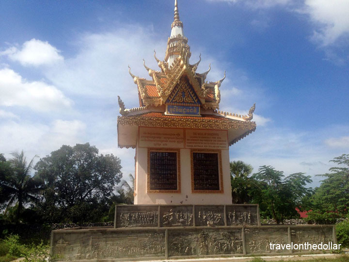 Memorial for Khmer Rouge victims