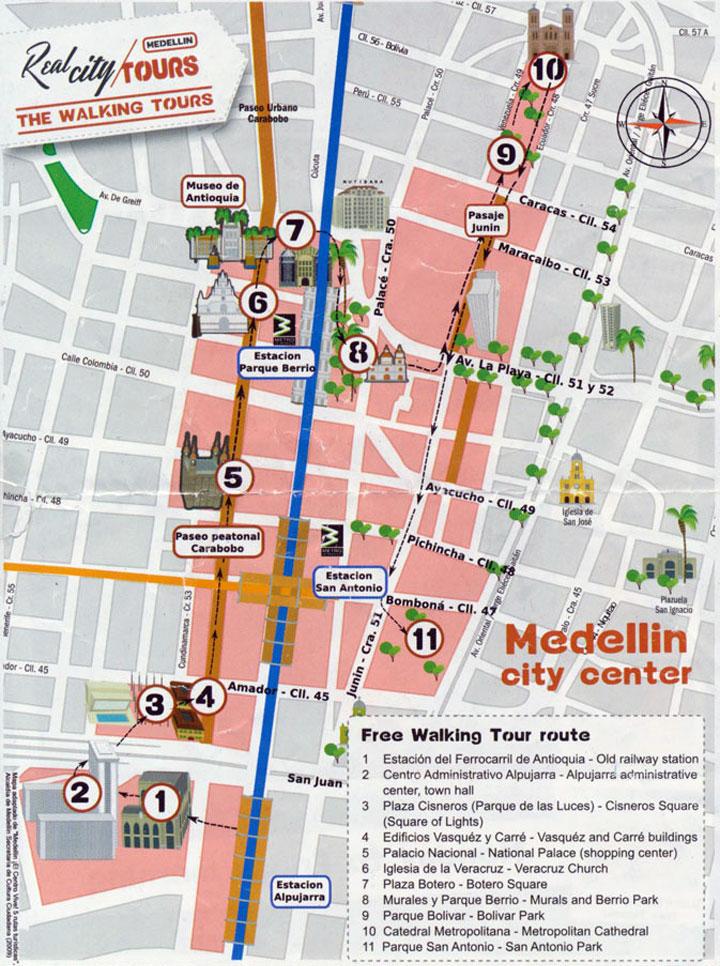 medellin_tour_map