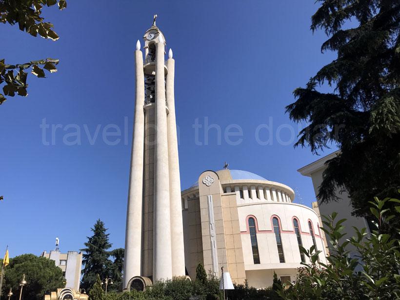 Resurrection of Christ Orthodox cathedral, Tirana
