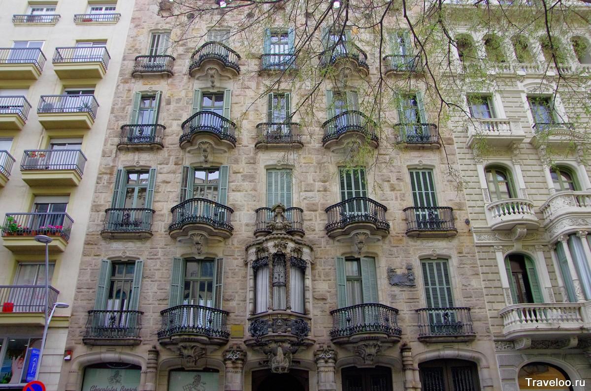 Calvet ház Barcelonában