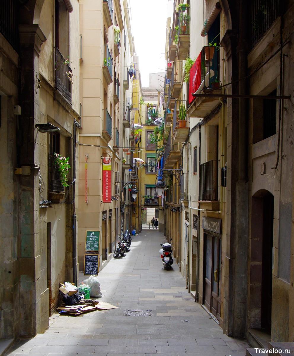 A gótikus negyed utcái
