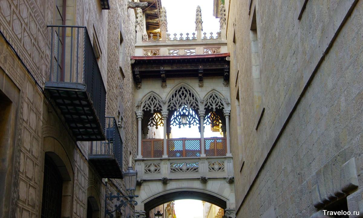 Barselona'da Gotik Mahallesi