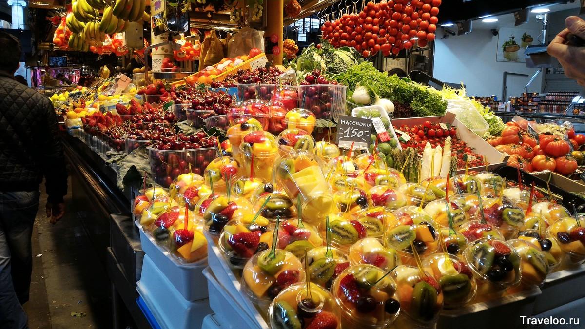 Barcelon piac Barcelonában