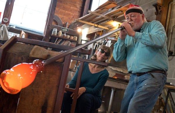 Guide Oregon Glassblowing - Travel