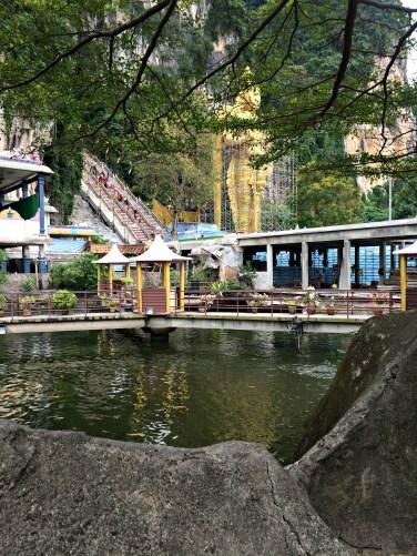 Batu Caves Pond