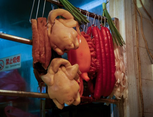 Hong Kong - Hanging Food in Shop Window (Featured)