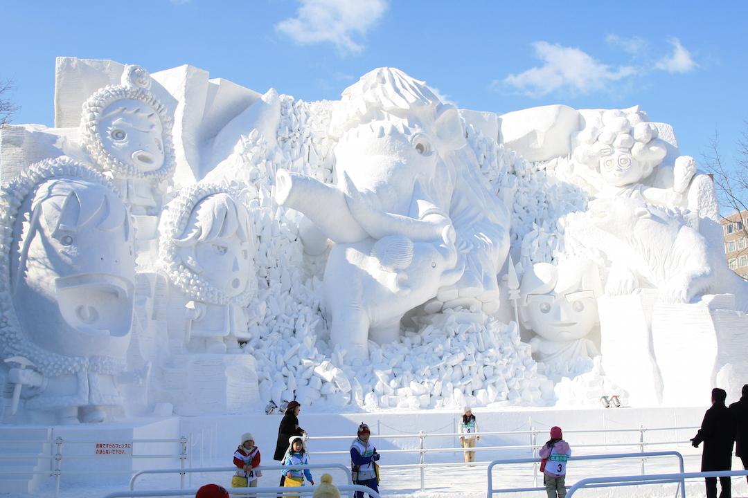 Sapporo Snow Festival by Tony Lin / CC by-NC-SA 2.0