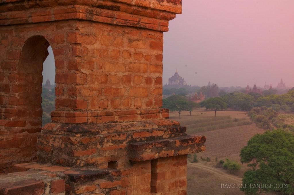 Bagan - Sunrise at Bagan 3