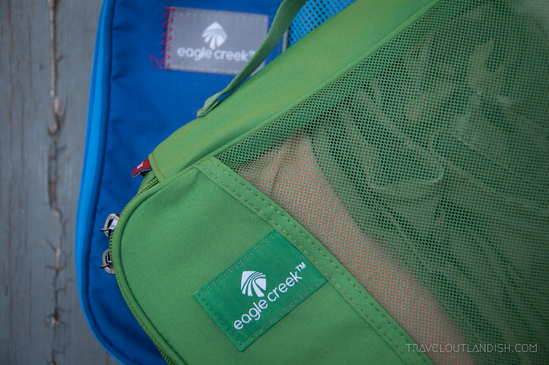 Round the World Trip Essentials - Eagle Creek Packing Cubes
