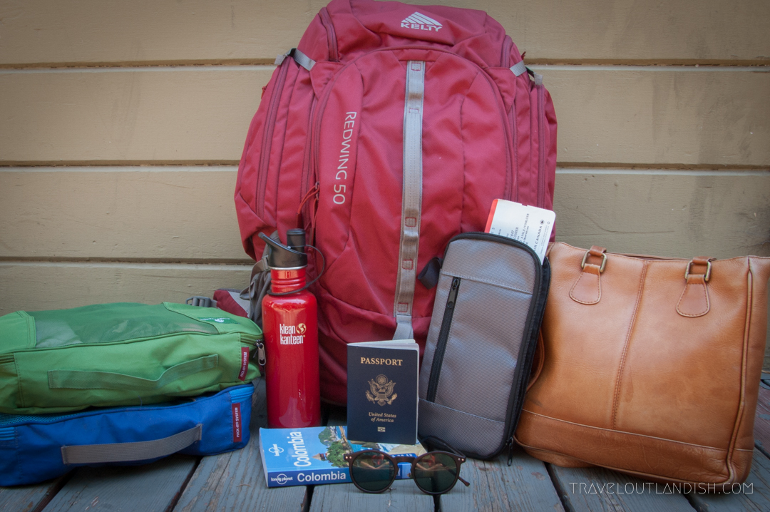 The Best Travel Backpack for Your Round the World Trip is the Kelty Redwing!